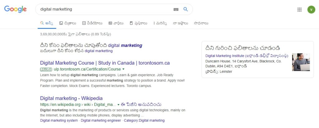 Search Engine Results Pages: SERP Results